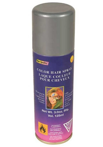 Silver Colour Hairspray