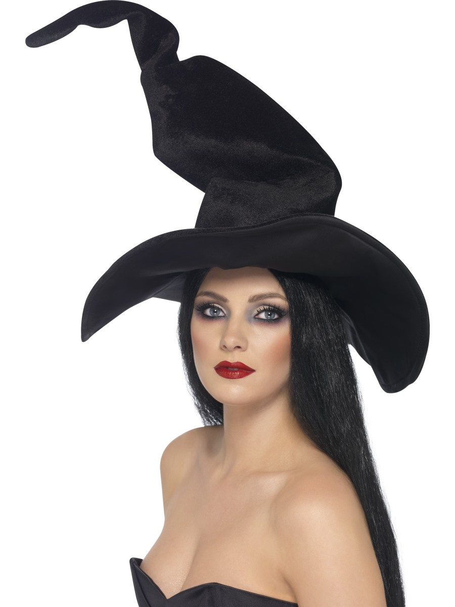 Witches Hat, Black, Tall and Twisty