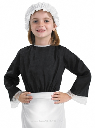 Victorian Hat and Apron