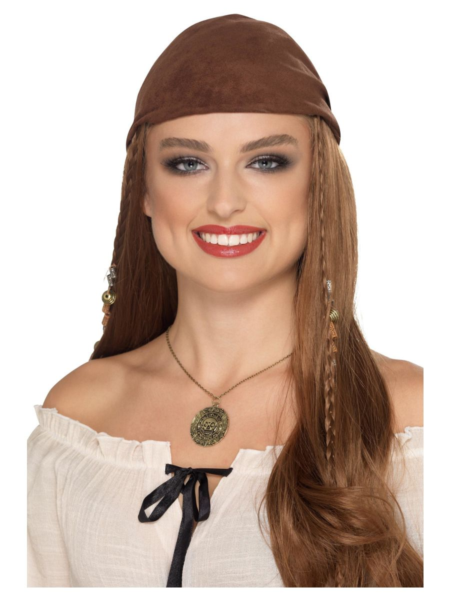 Bronze Coin Pirate Necklace