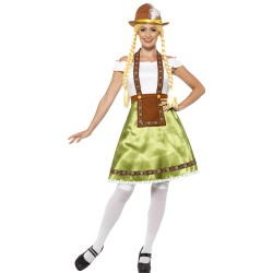 Bavarian Maid Costume