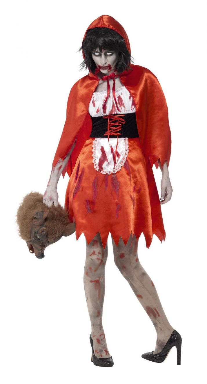 Zombie Little Miss Hood Costume