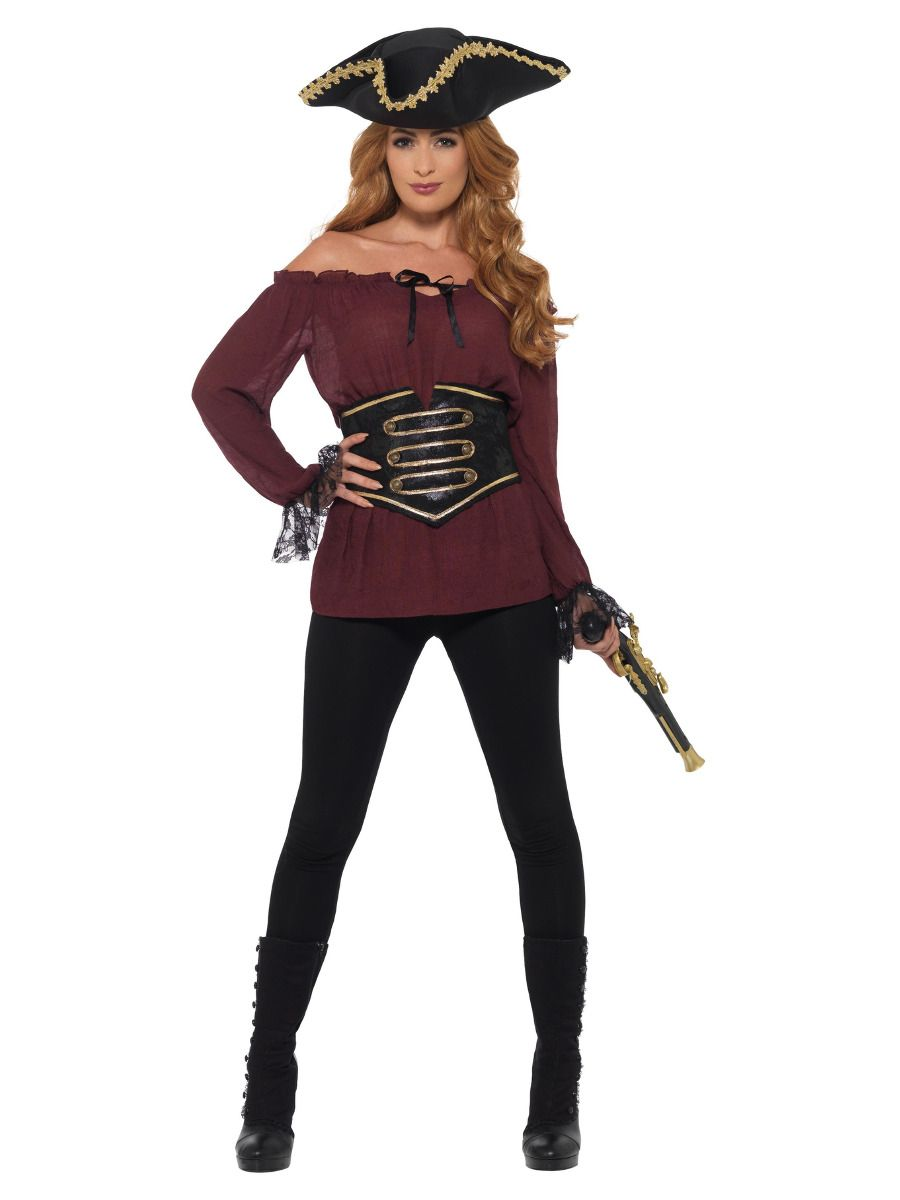 Deluxe Ladies Pirate Shirt
