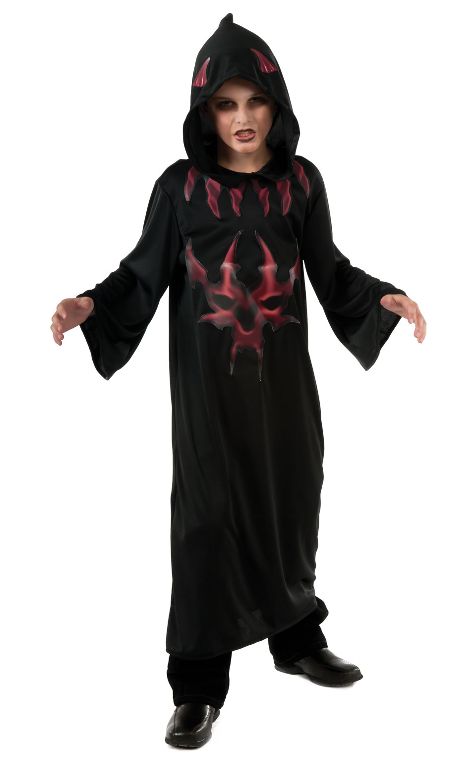 Black and Red Devil Robe