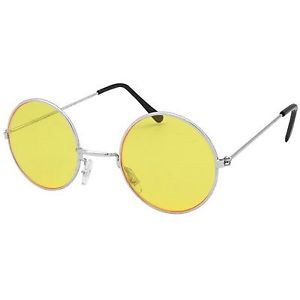 Yellow Lennon Glasses