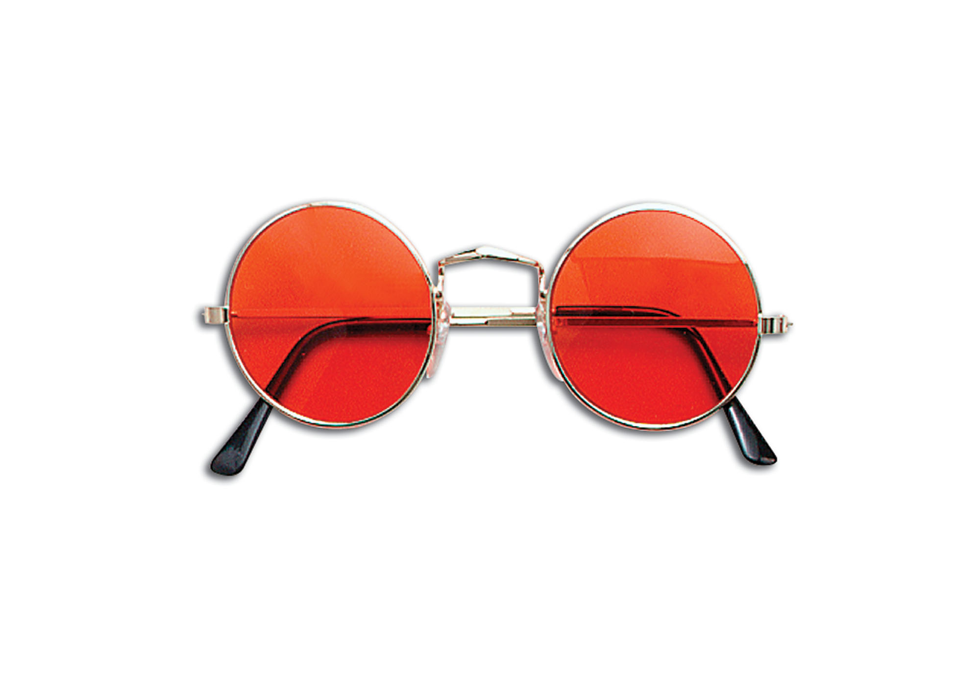 Orange hippy glasses