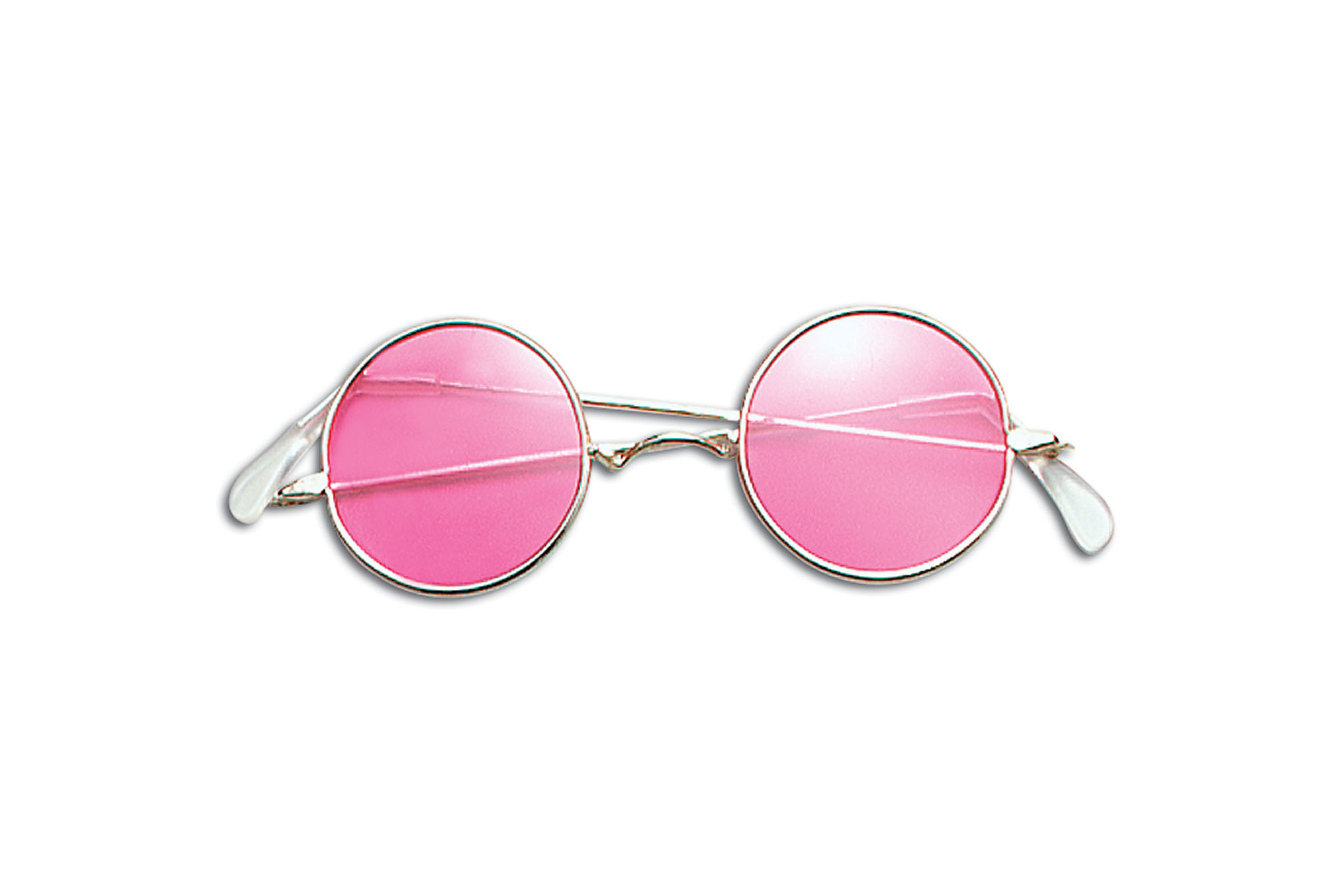 Pink hippy glasses