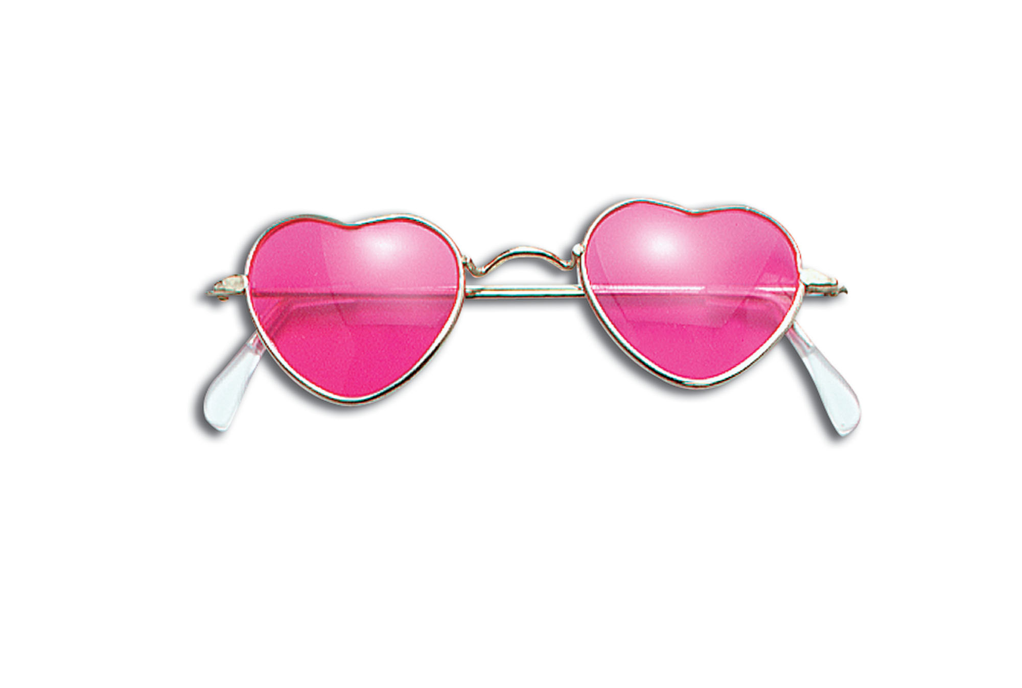 Pink heart hippy glasses