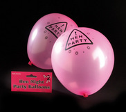 Set of 12 Hen Night Balloons