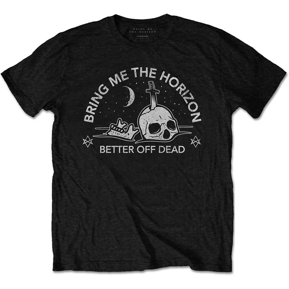 BRING ME THE HORIZON UNISEX TEE: HAPPY SONG