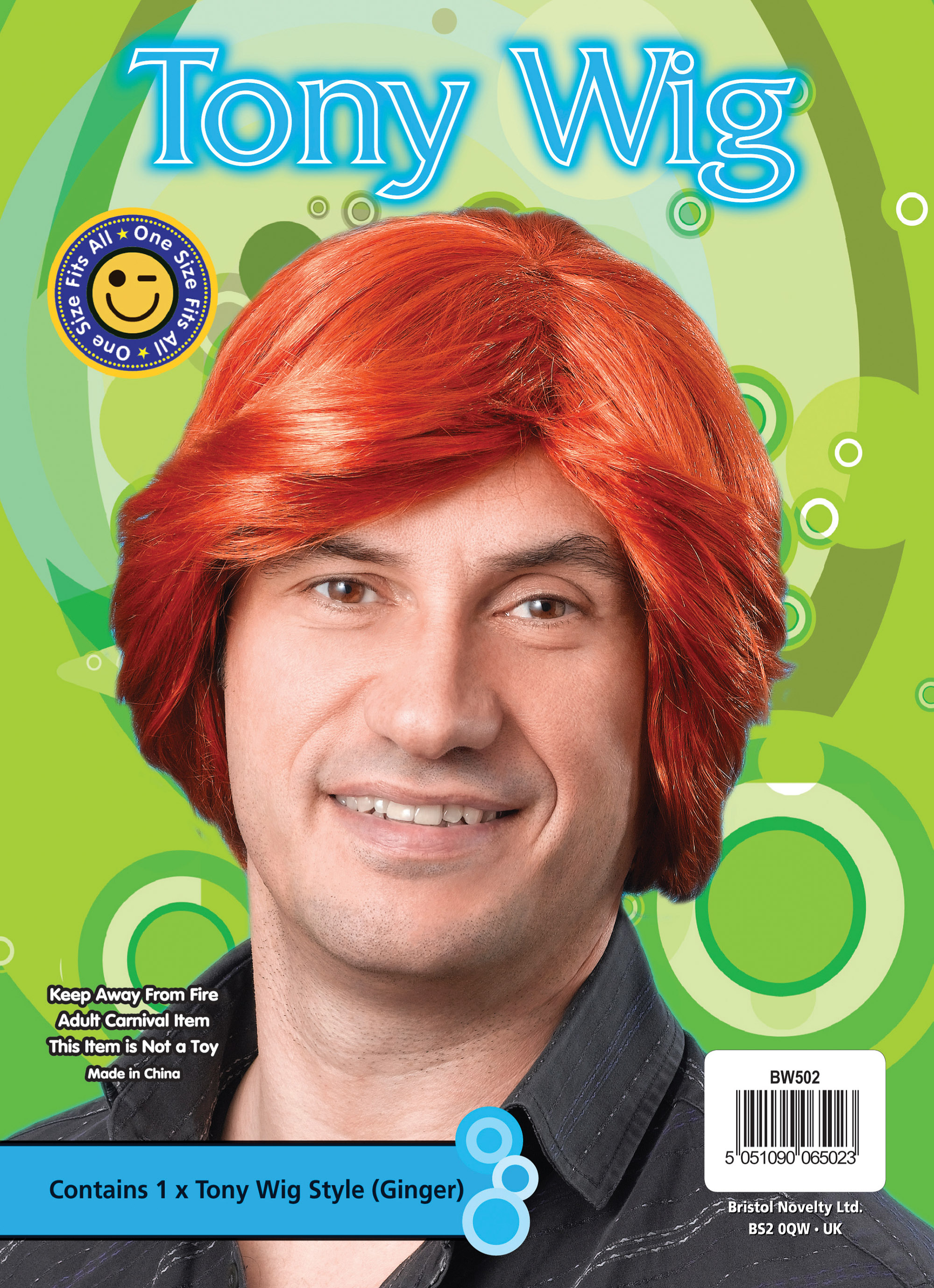 Ginger Tony Wig Bw502 699 Sparx For Fancy Dress Sales And