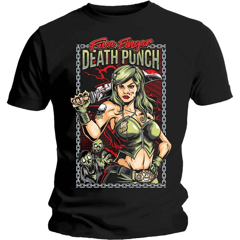 FIVE FINGER DEATH PUNCH UNISEX TEE: ASSASSIN