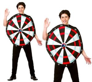 Dart Board Adult Costume