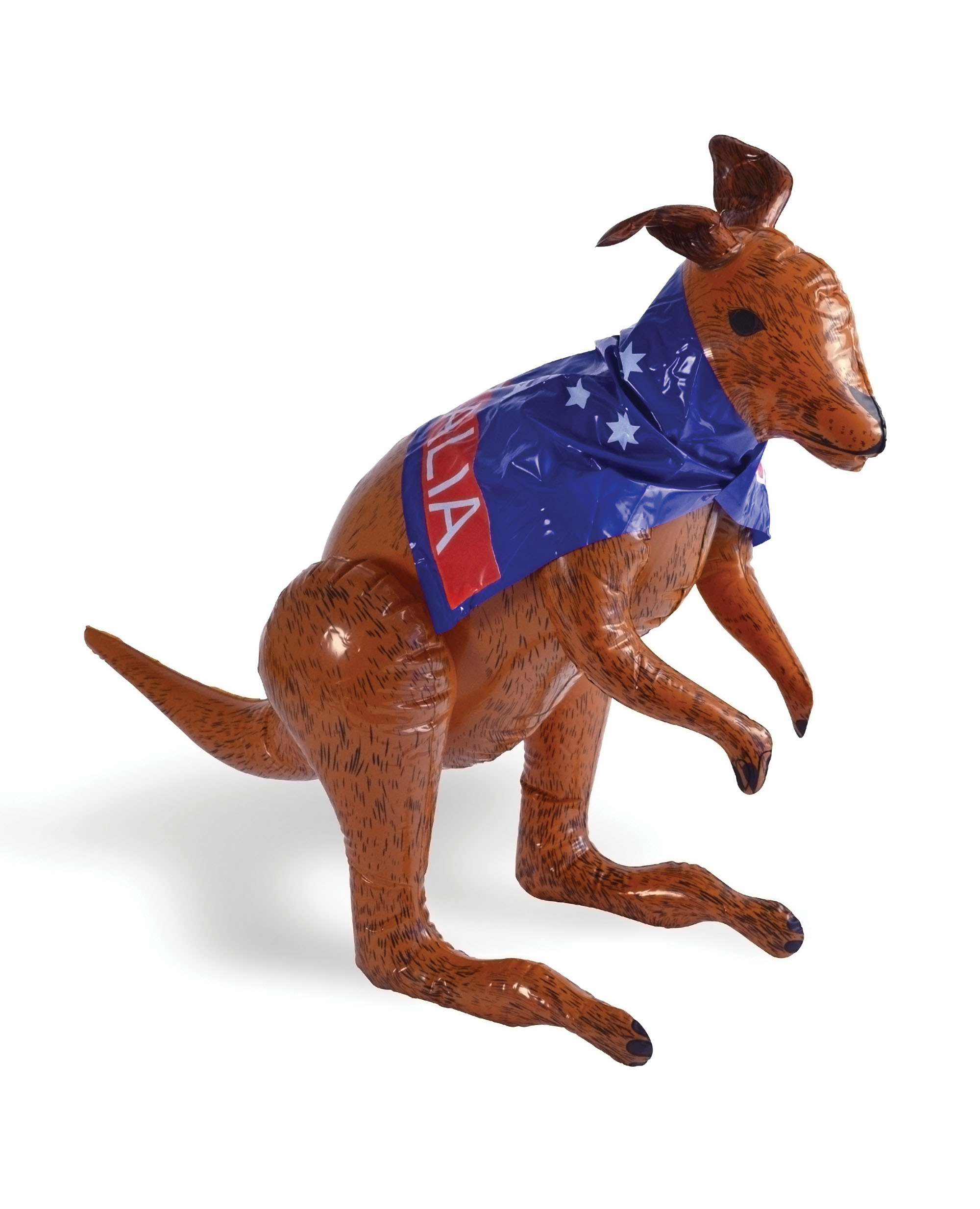 Kangaroo with Aussie Flag