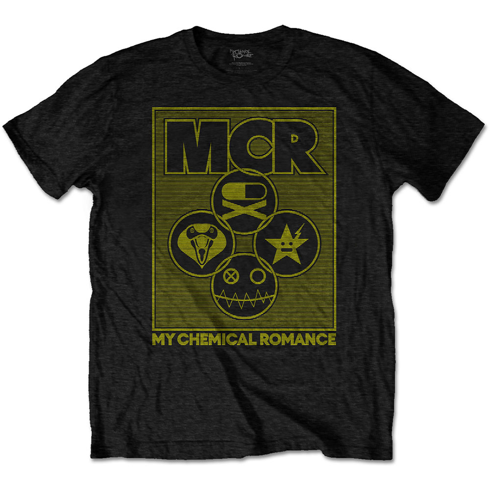 MY CHEMICAL ROMANCE UNISEX TEE: LOCK BOX