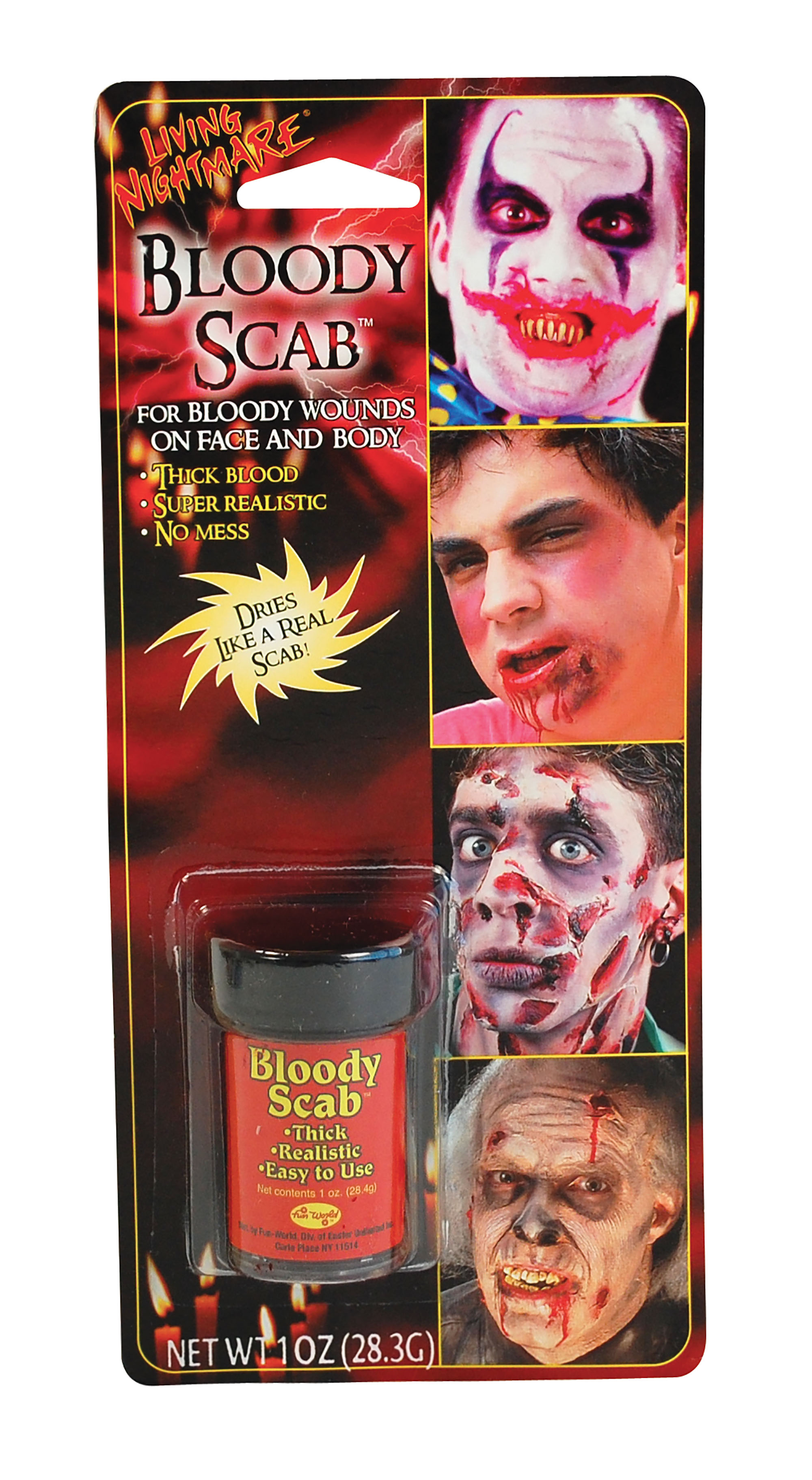 Bloody Scab Make-Up Kit