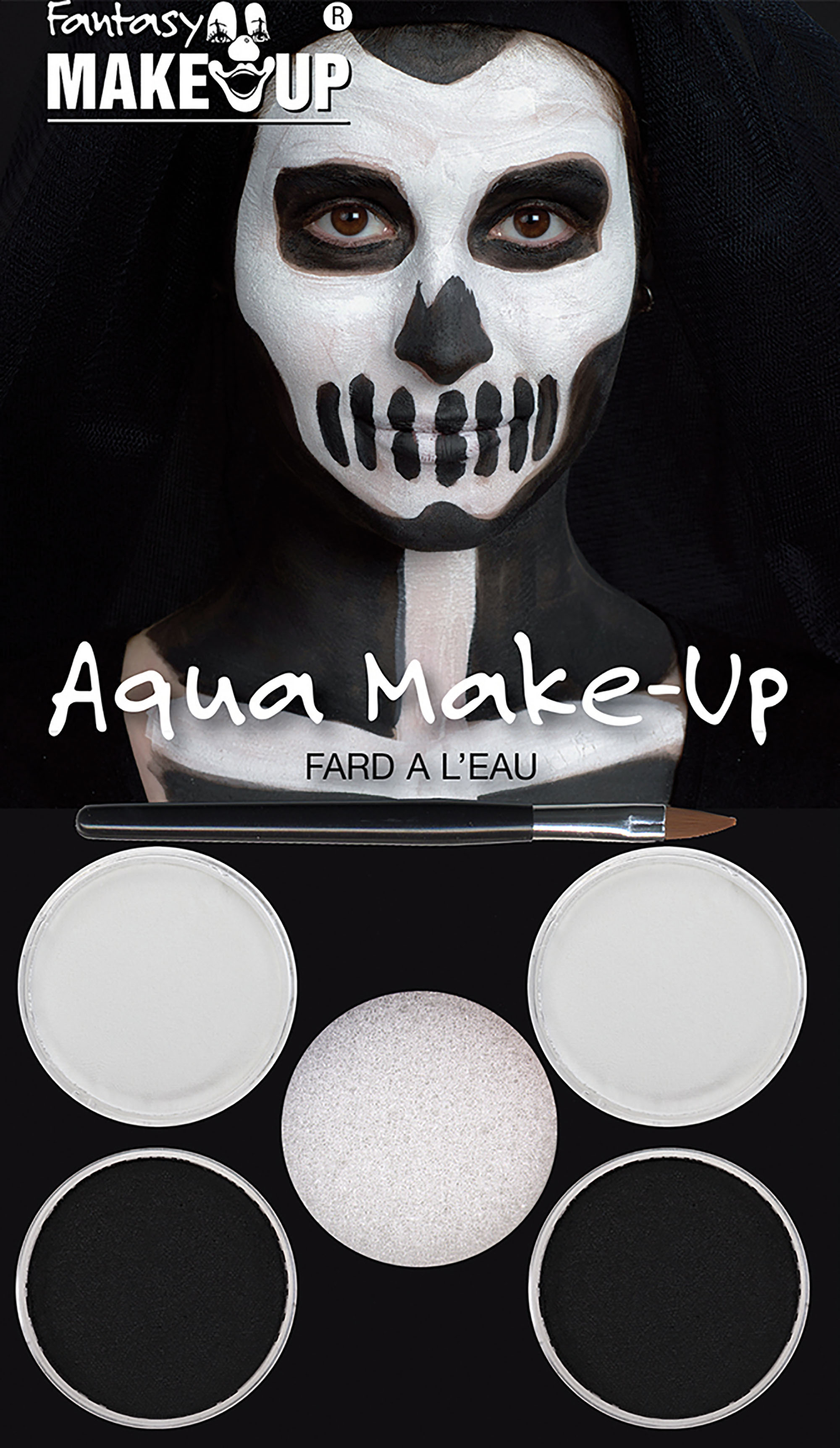 Black ans White Aqua Make-Up