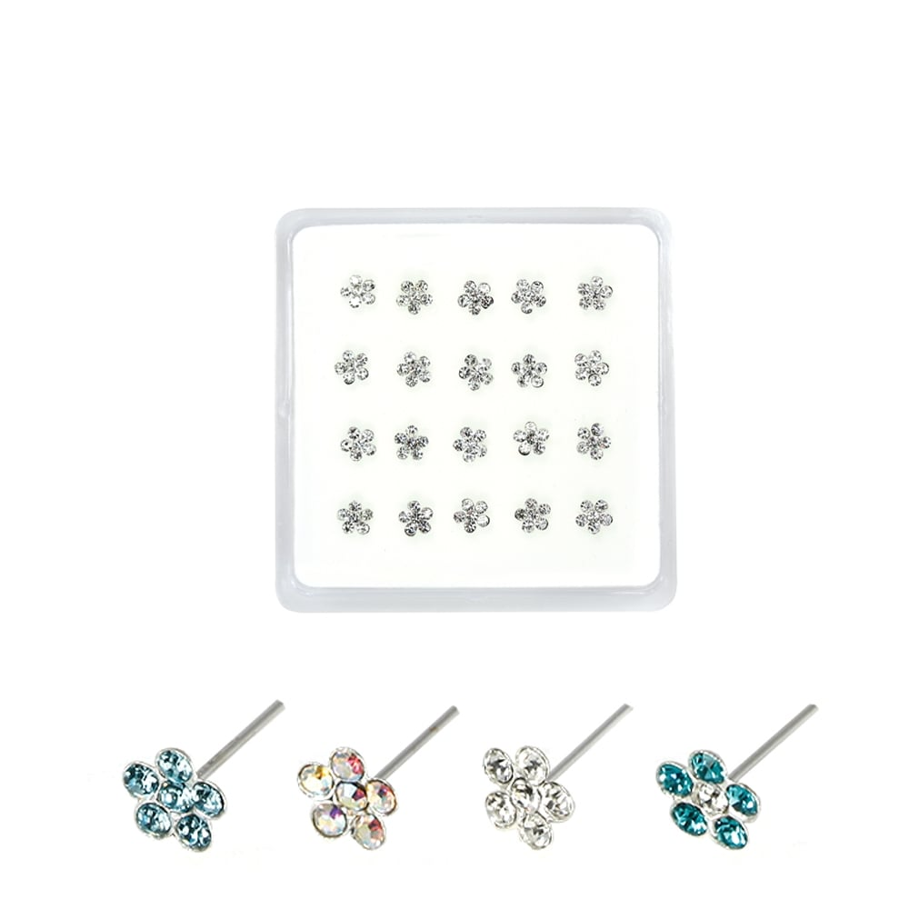 Gemset Daisy Nose Pins
