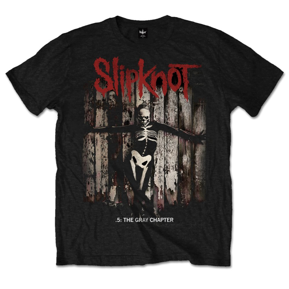 Slipknot Men's Tee: The Gray Chapter Album