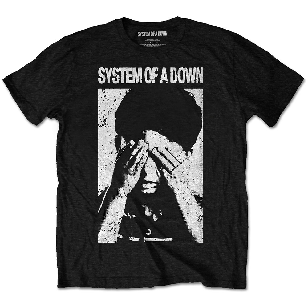 System of a Down See No Evil Tee