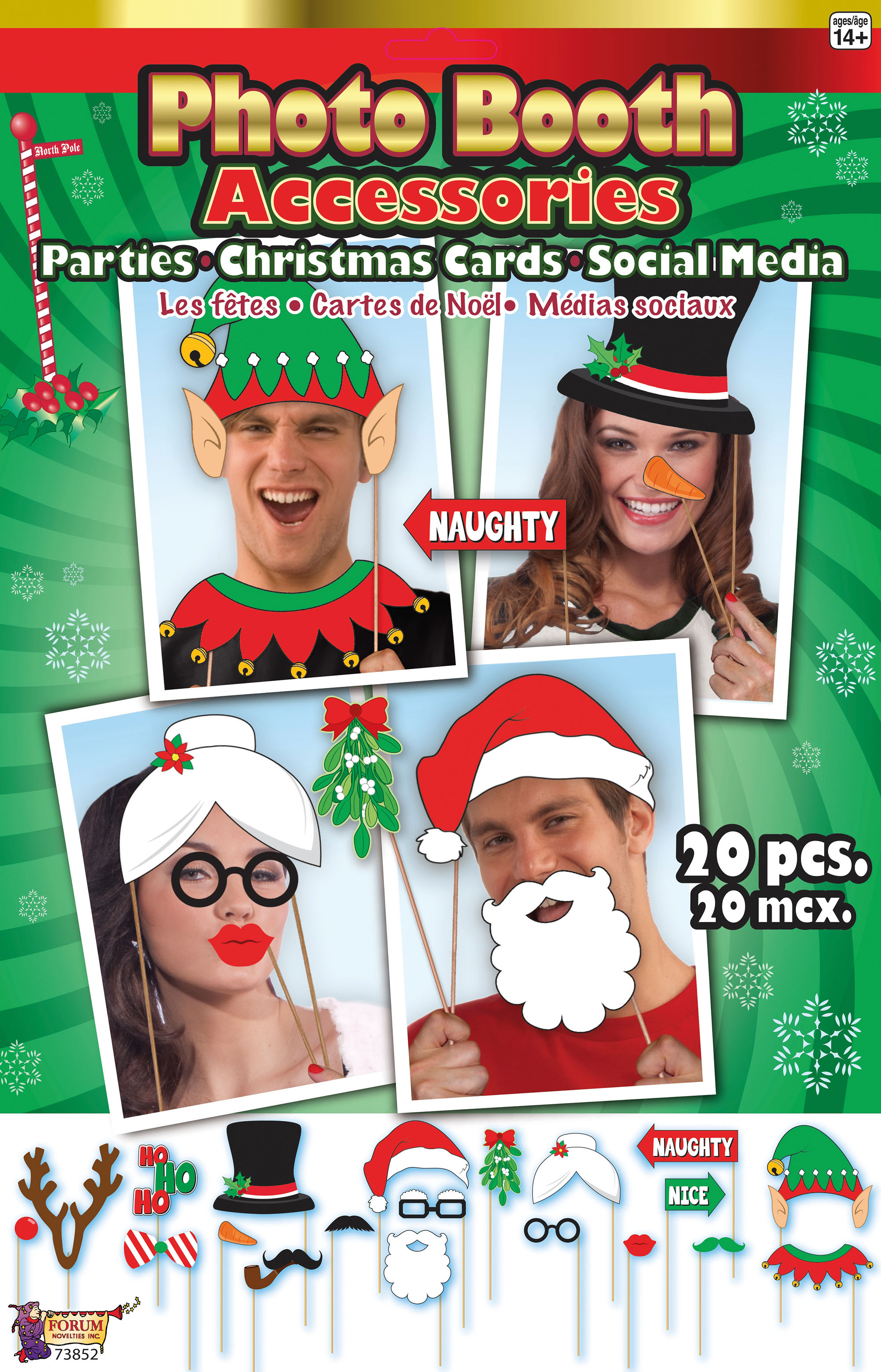 Christmas Photo Booth Accessories - Click Image to Close