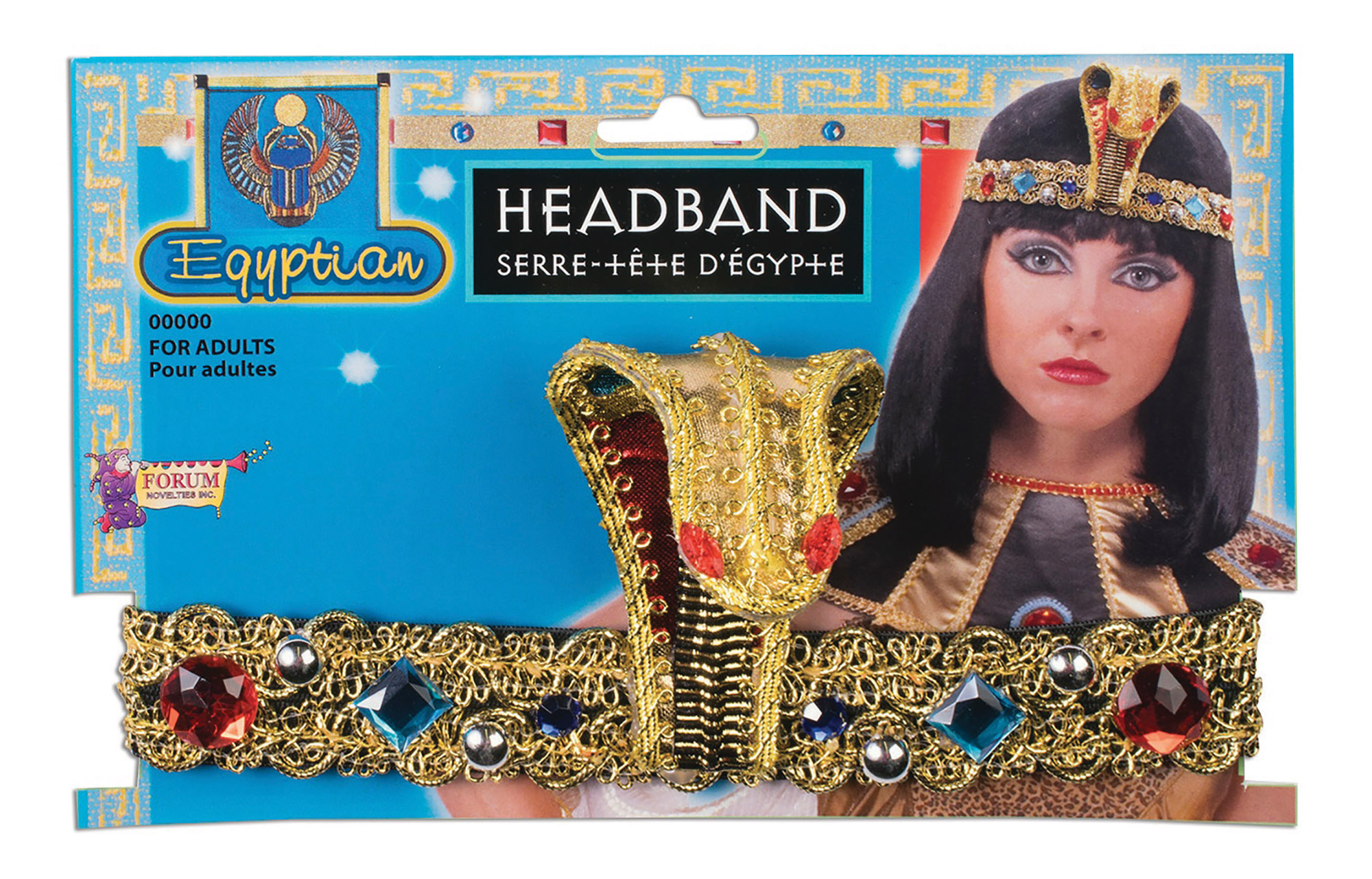 Jeweled Egyptian Headband
