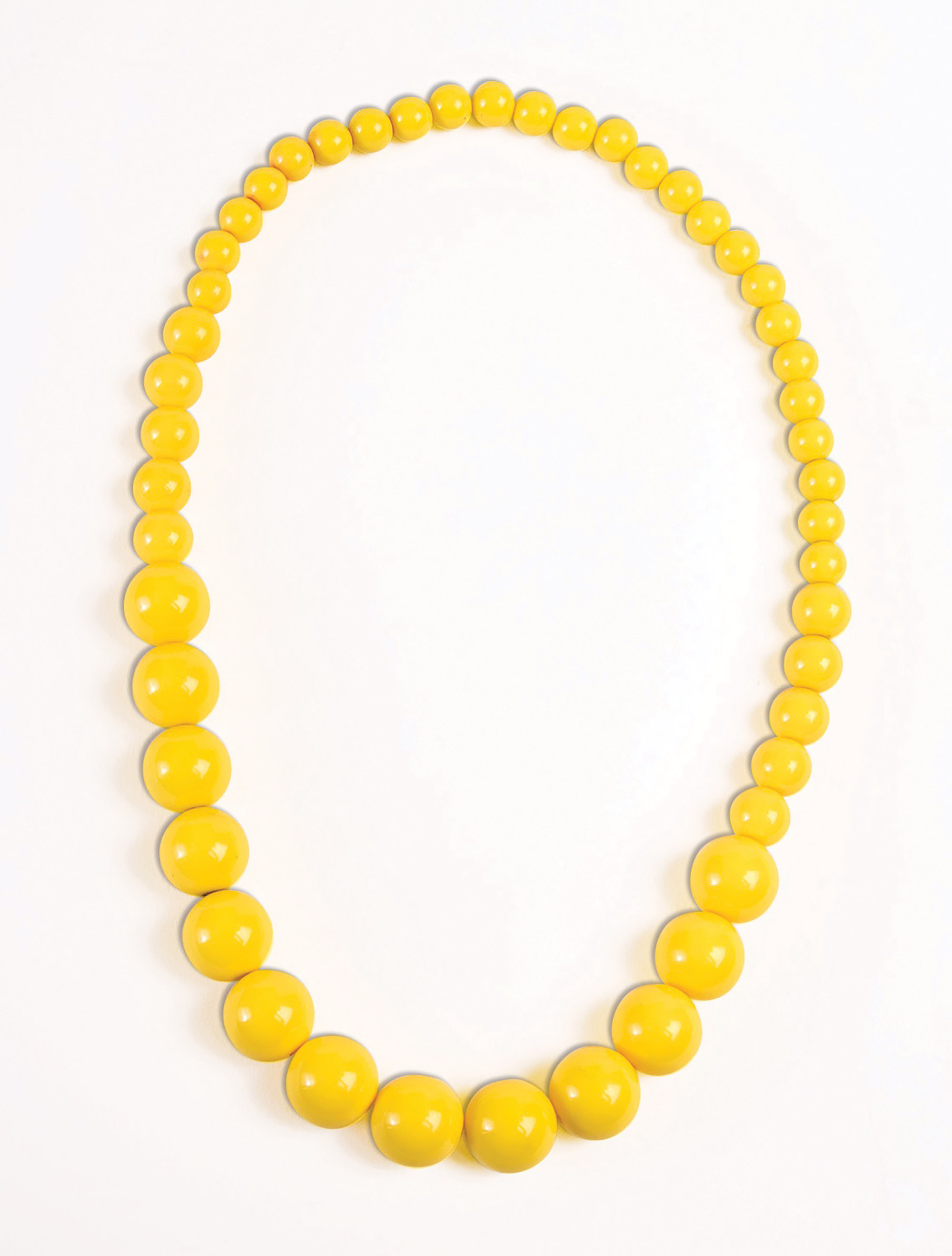 Pop Art Yellow Pearls
