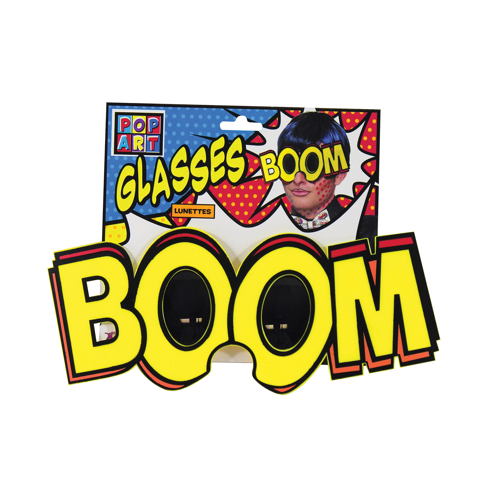 Pop Art BOOM Glasses