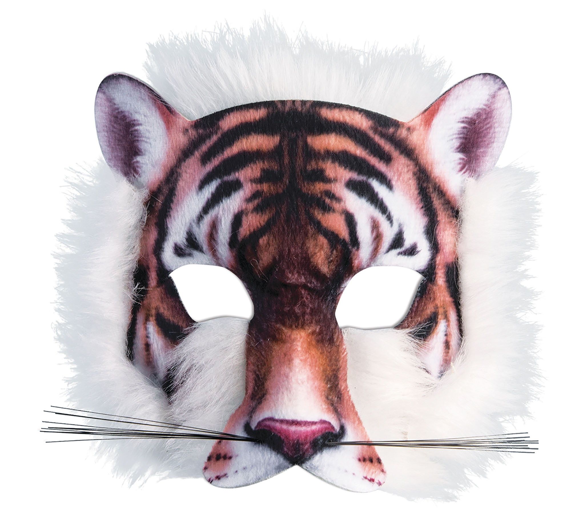Tiger Mask Realistic Fur