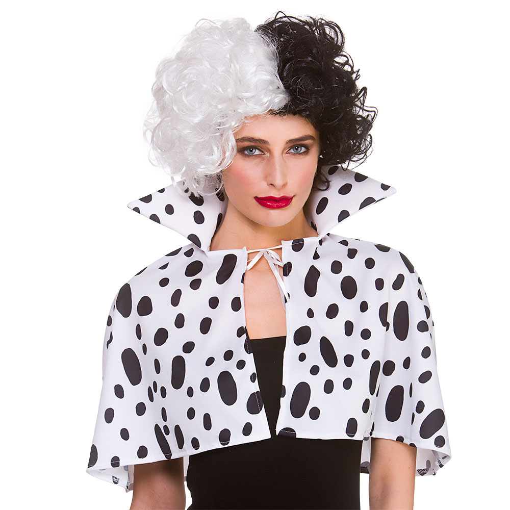 Dalmation Lady Cape with Collar