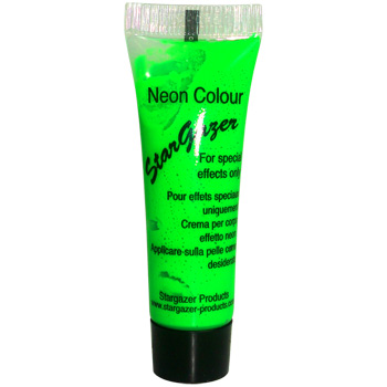 Neon Green UV Reactive Face and Body Paint