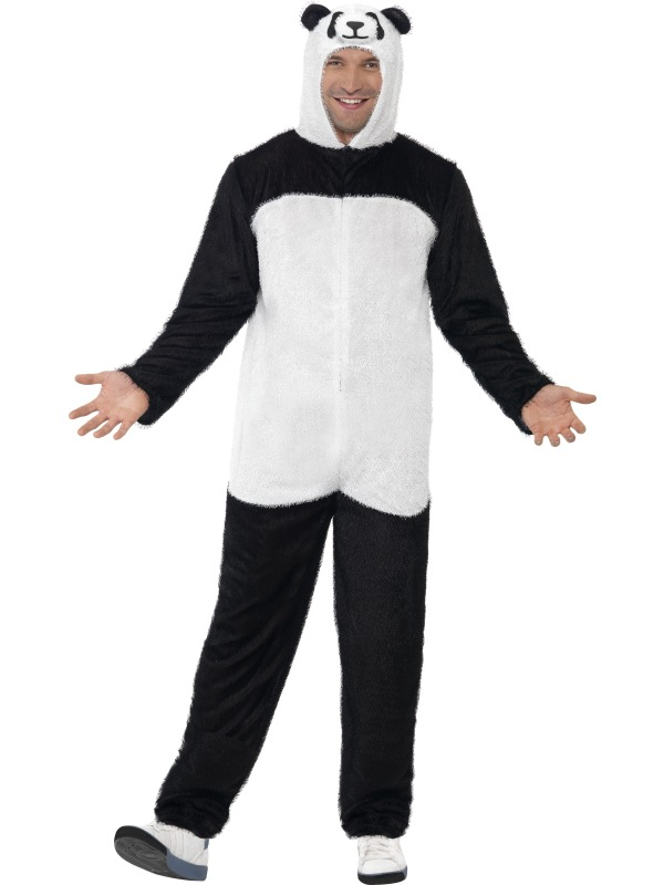 Panda Costume, All In One With Hood