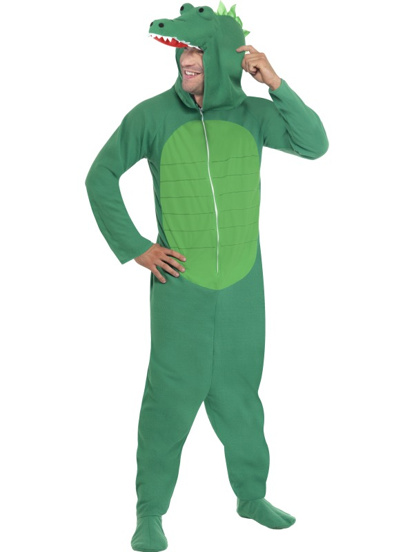 Crocodile Costume, Includes Jumpsuit With Hood