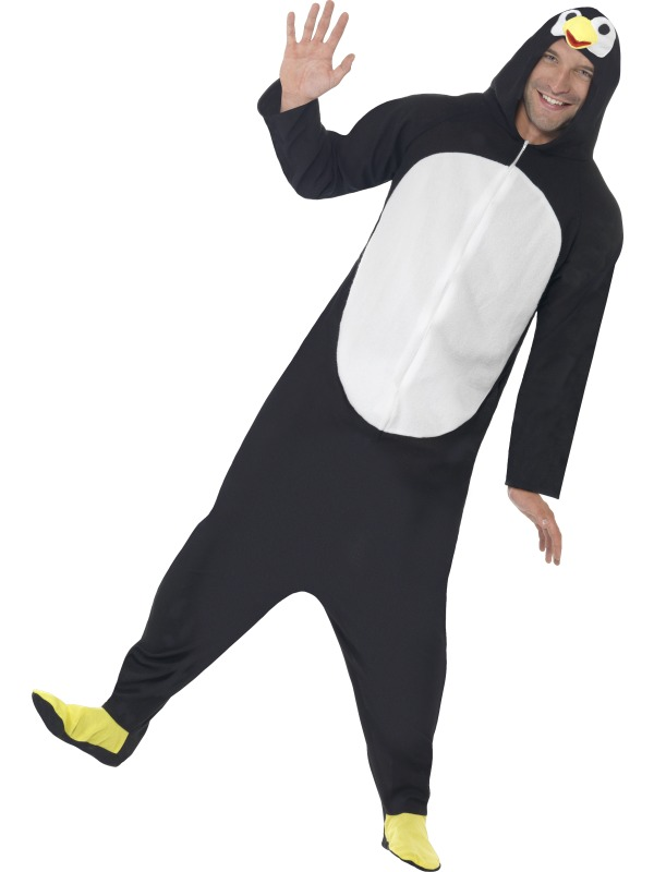 Penguin Costume, All In One With Hood