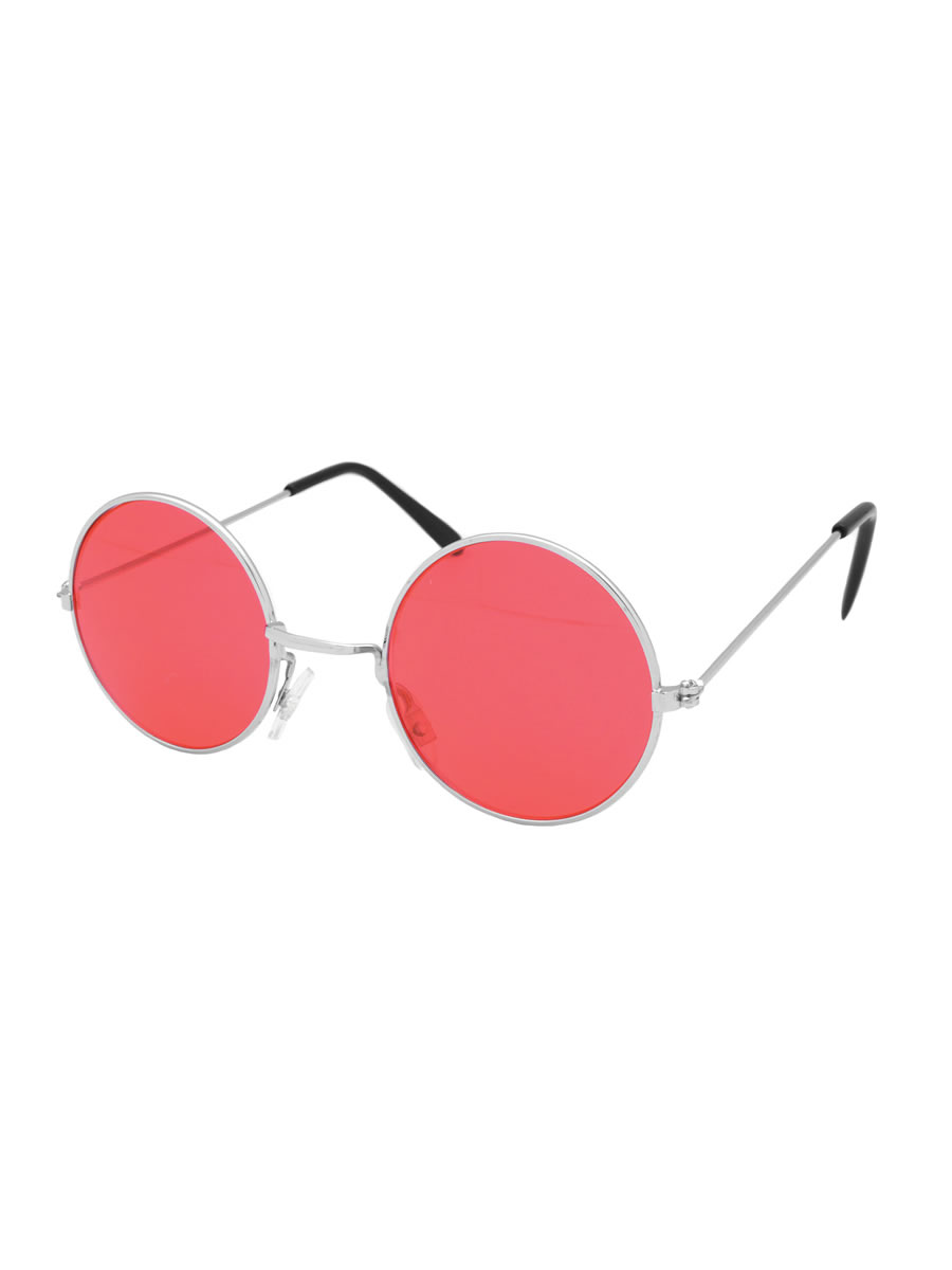 Red Lennon Glasses
