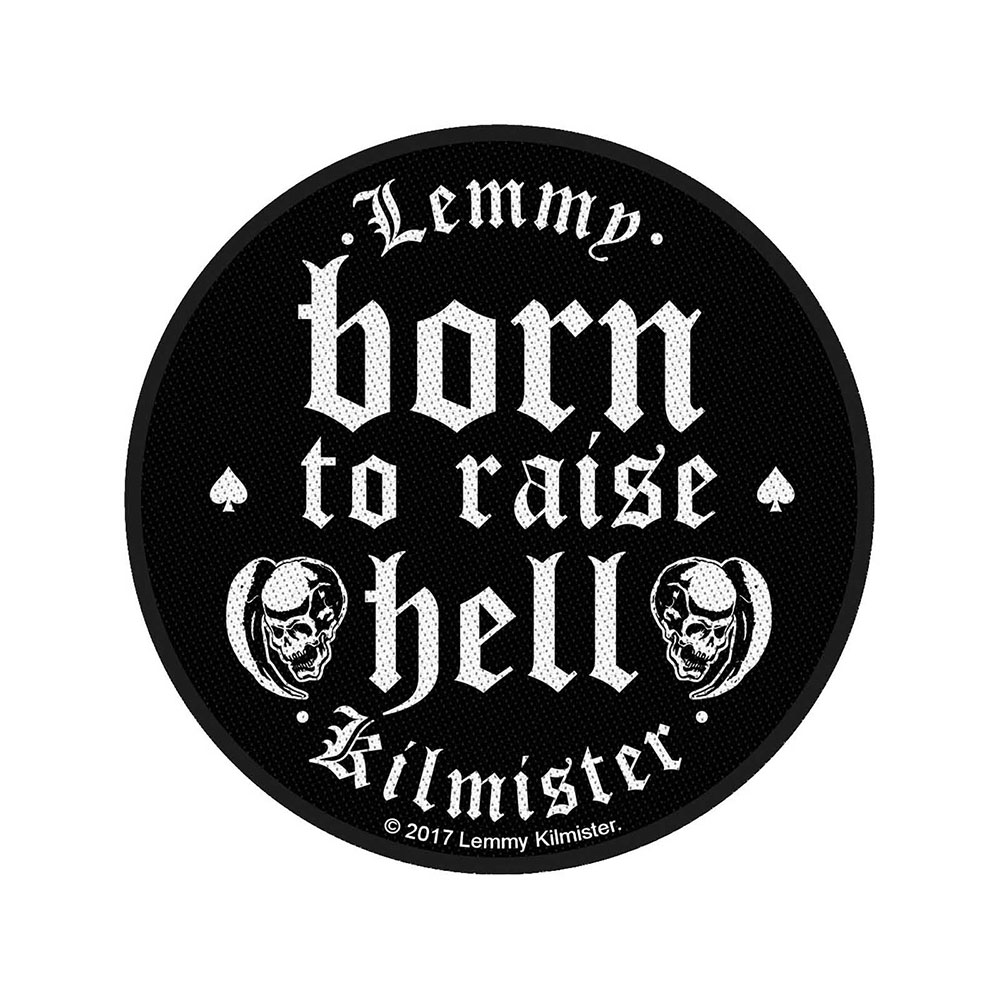 Lemmy Woven Patch[Born to Raise Hell]