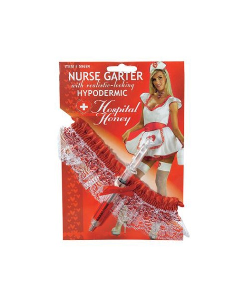 nurse garter with hypodermic