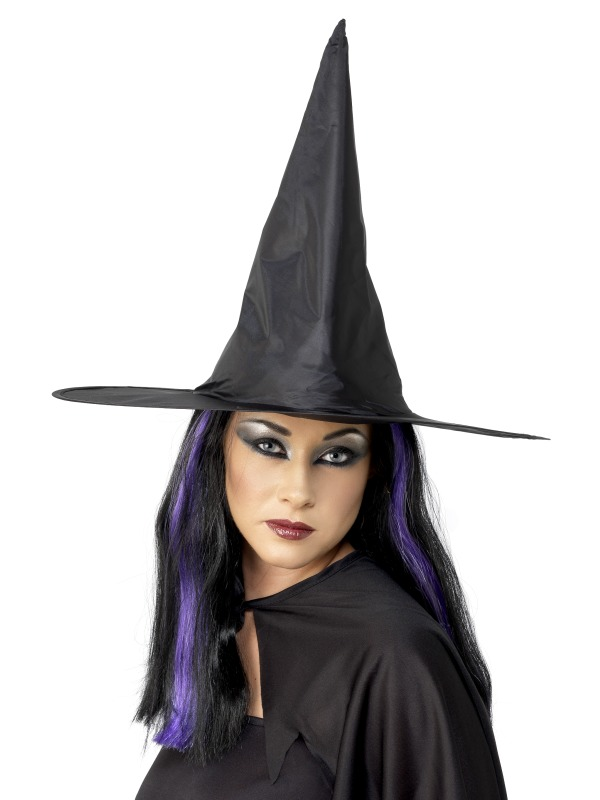 Witch Hat,Shiny Fabric