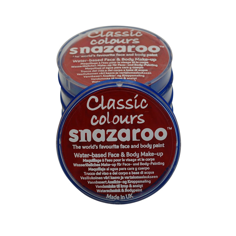 Snazaroo Red