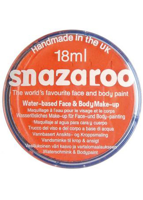Snazaroo Bright Orange 18ml