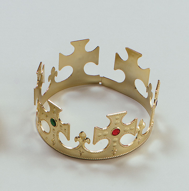 Gold Plastic Crown