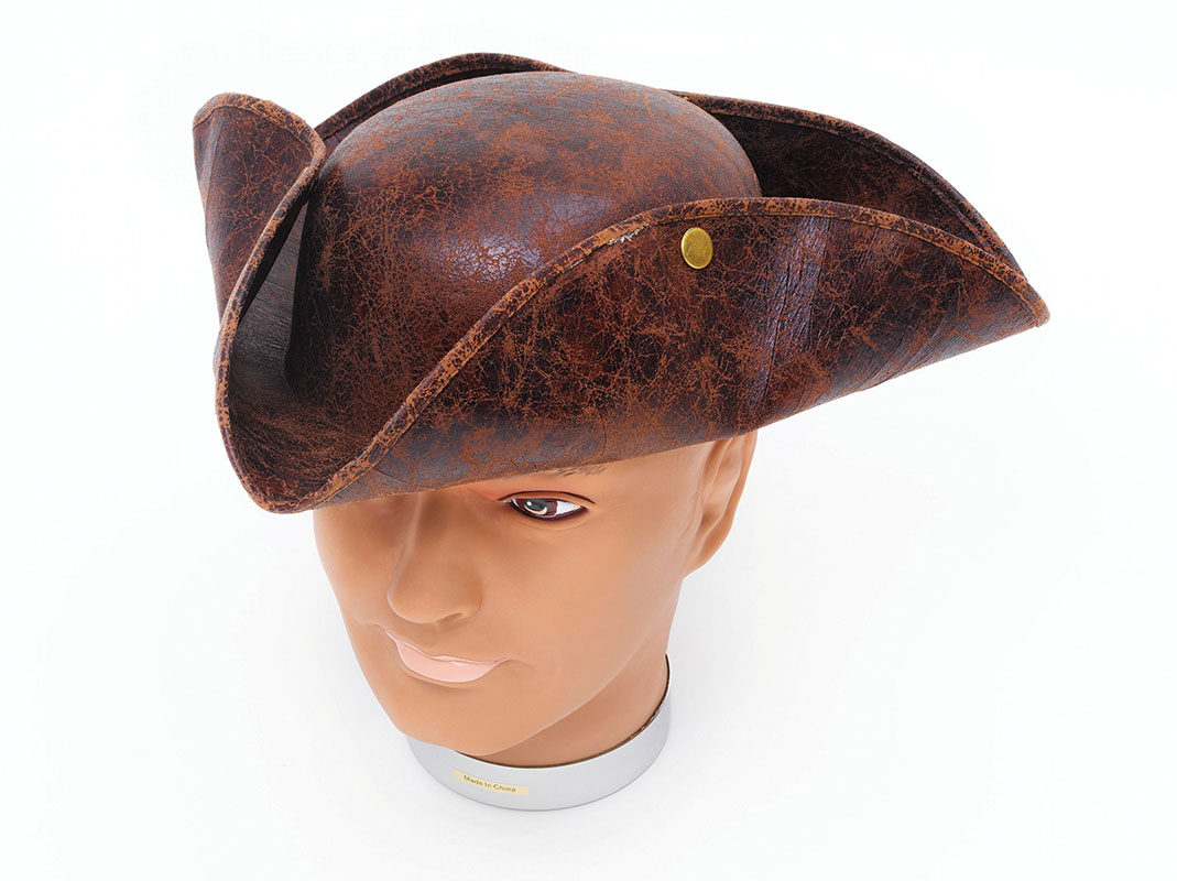 Brown Tricorn (Ancient look)