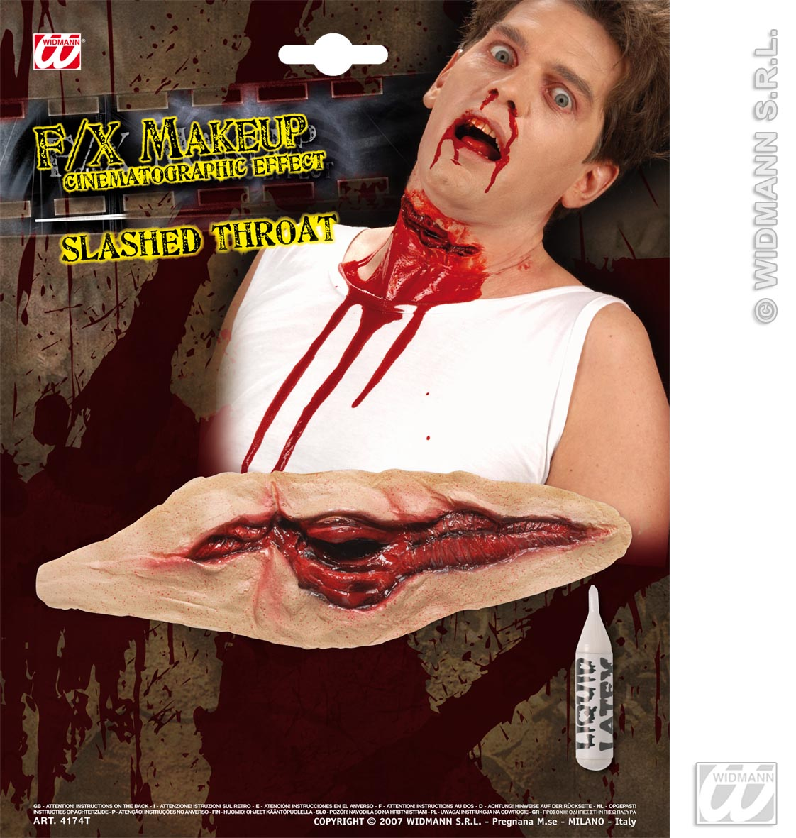 Slashed Throat FX